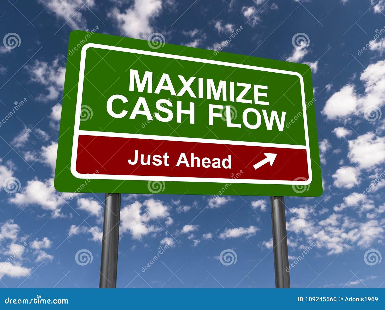 最大化现金流动标志