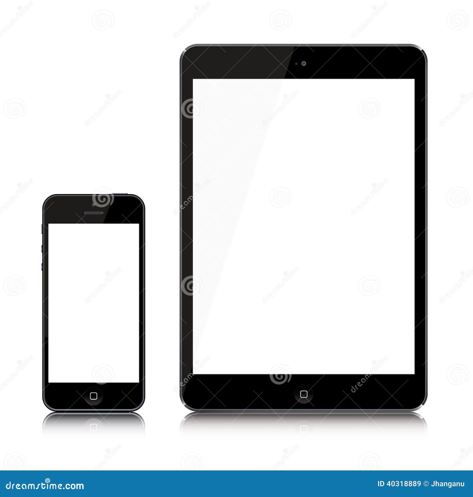最新的iPad和iPhone