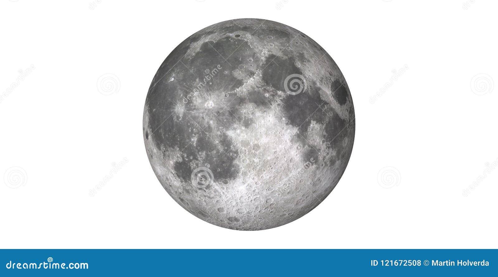 月亮白色背景地球球形