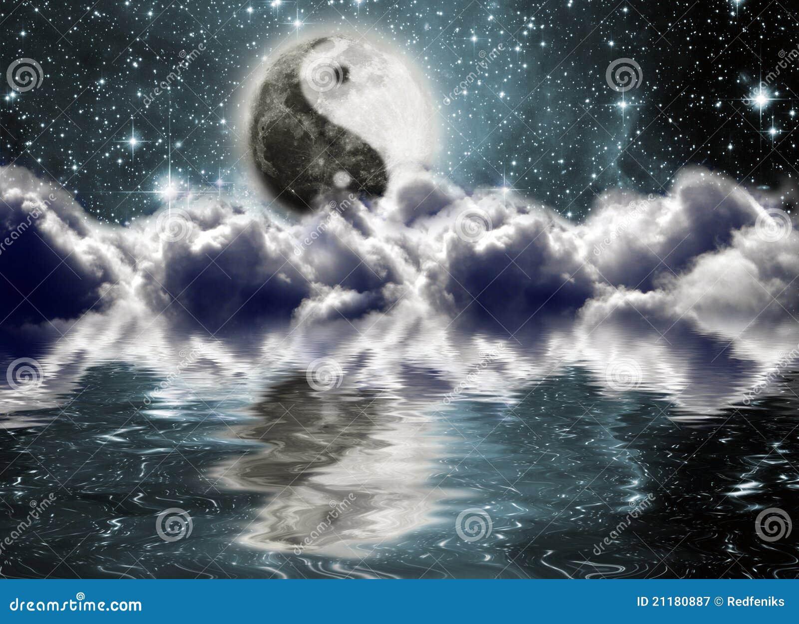 月亮符号杨yin