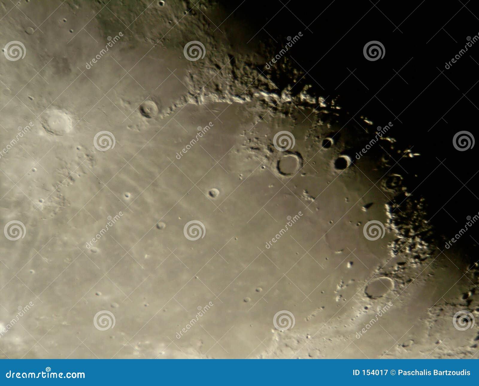 月亮s表面