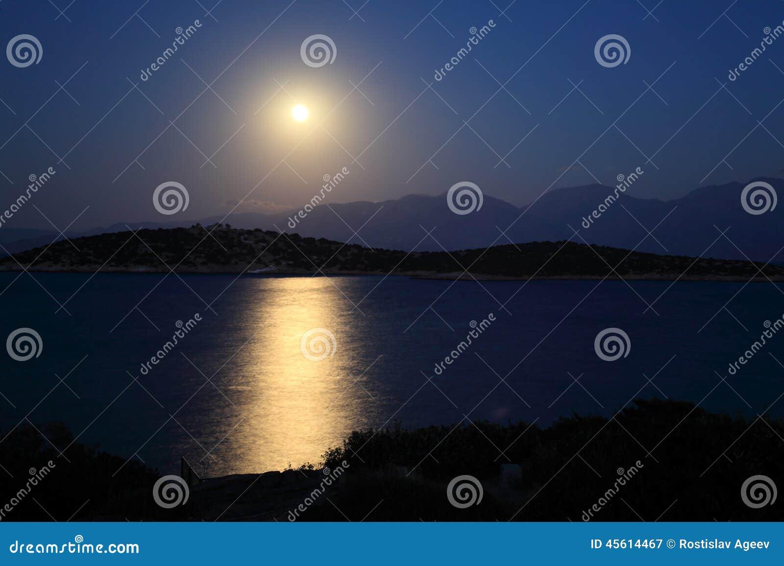 月光路和地中海