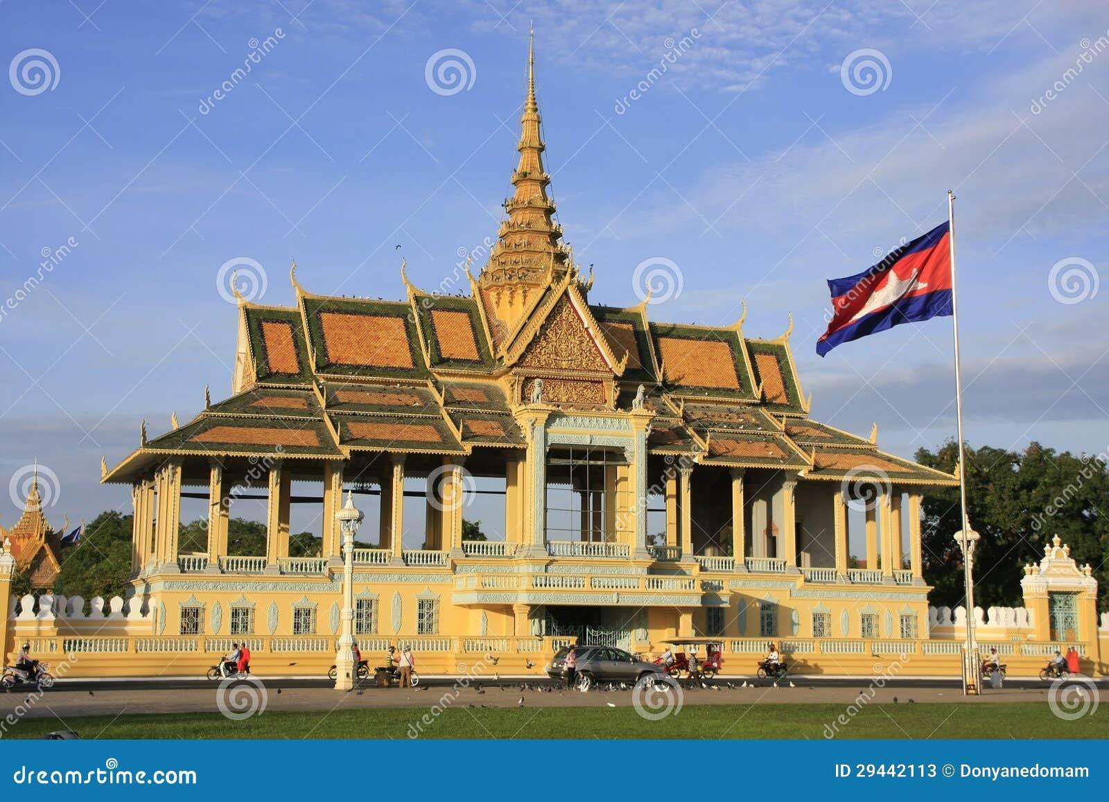 月光Pavailion,皇宫,金边,柬埔寨