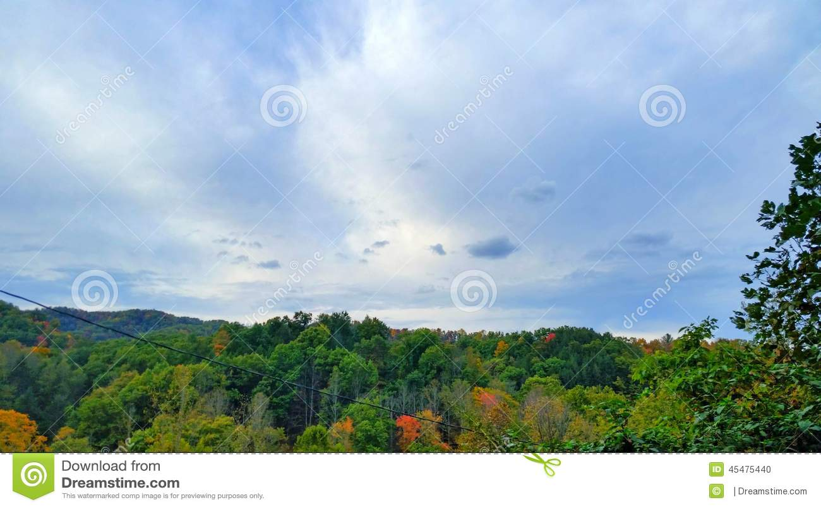 10月天空