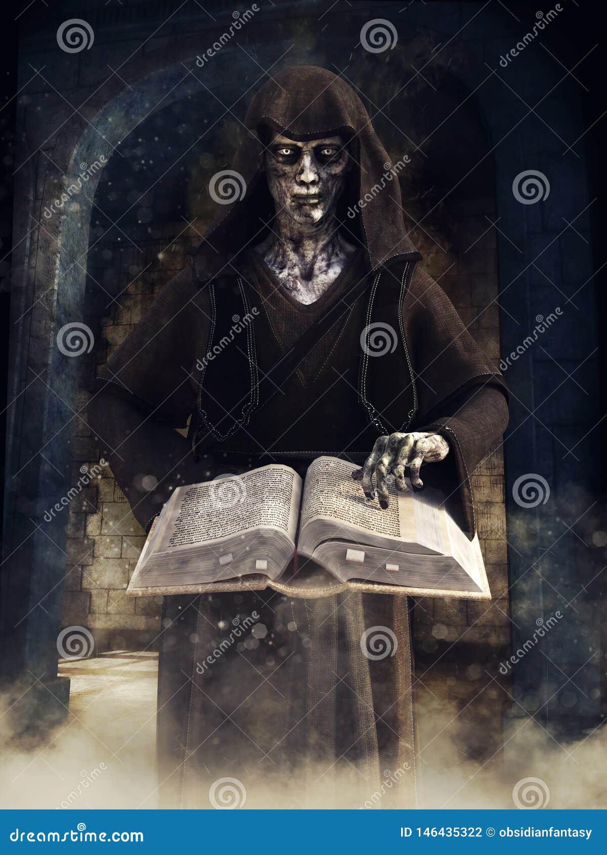 有一本不可思议的书的不死巫术师