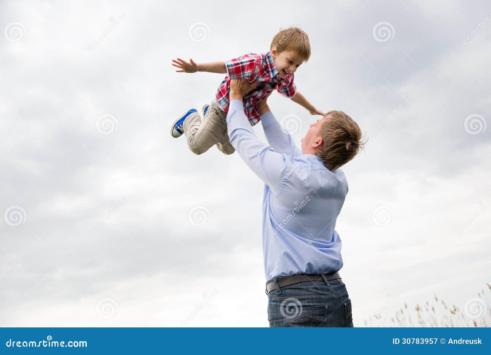 有儿子的父亲