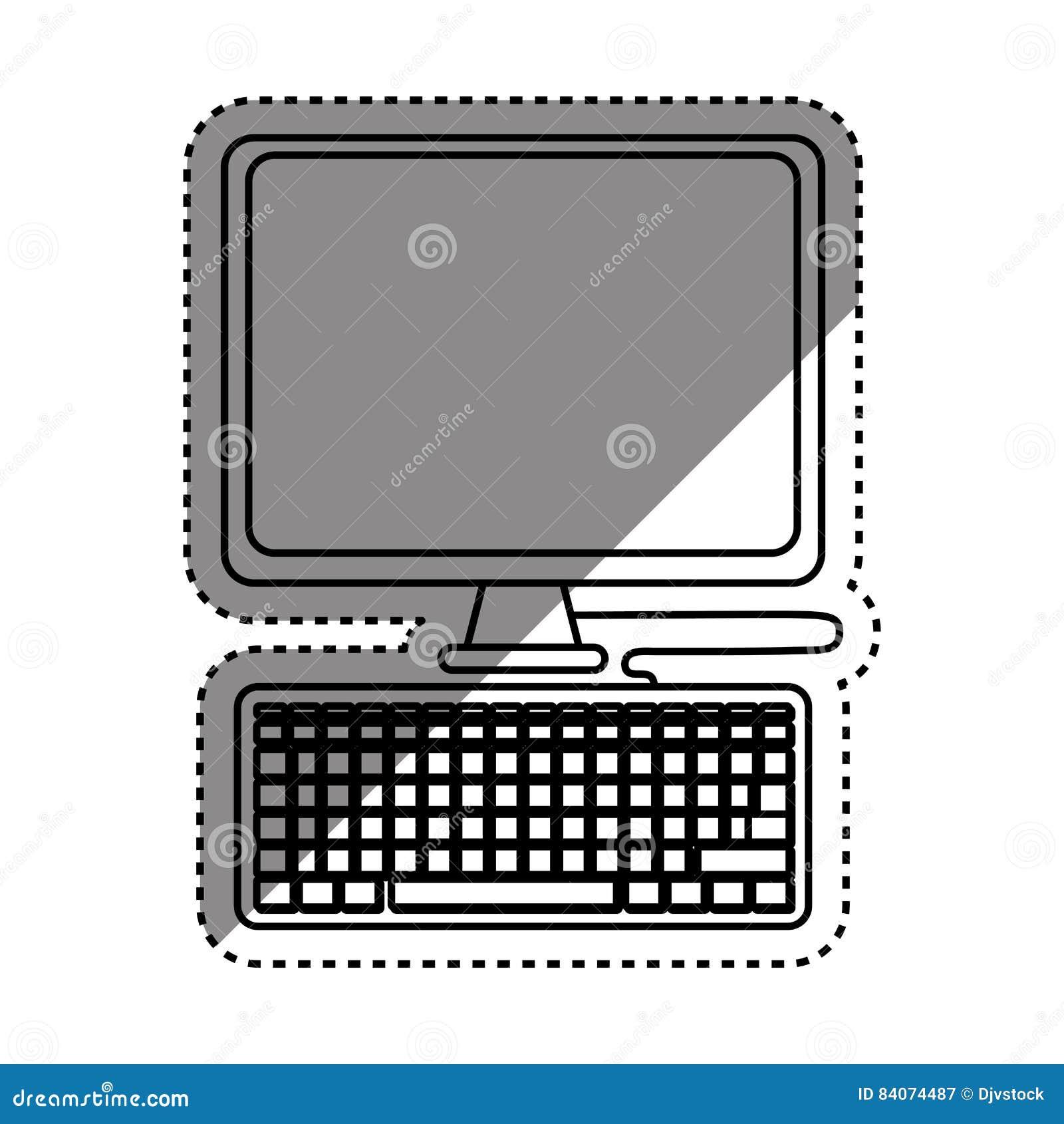 有关键董事会的计算机