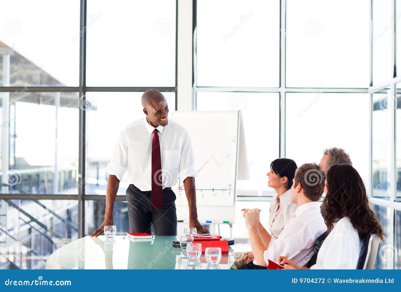 有吸引力生意人会议联系