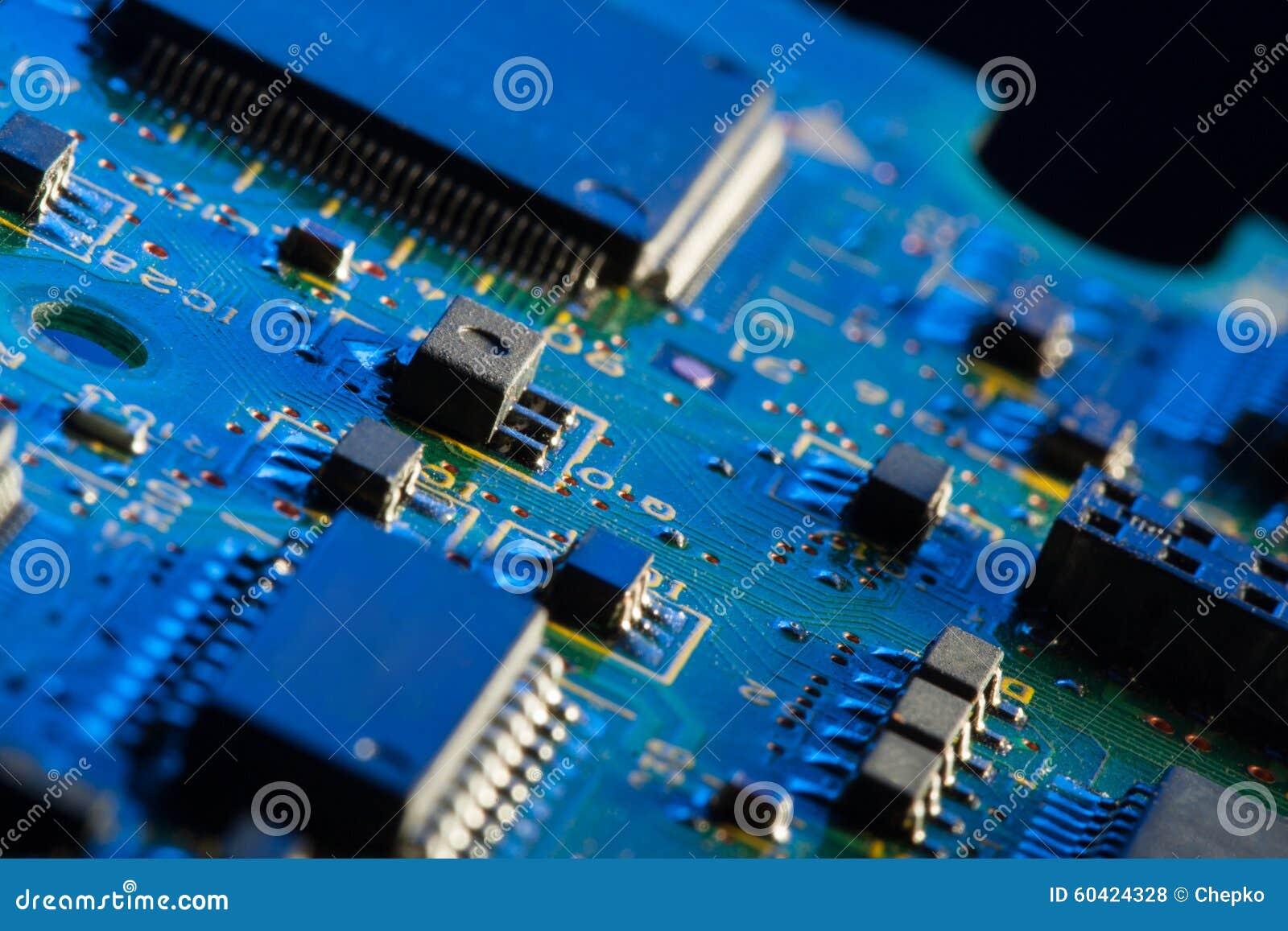 有处理器的电路板