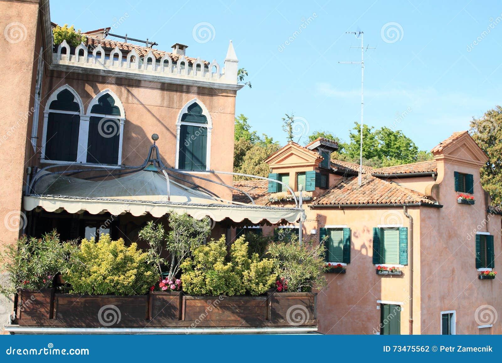 有大阳台的议院在威尼斯