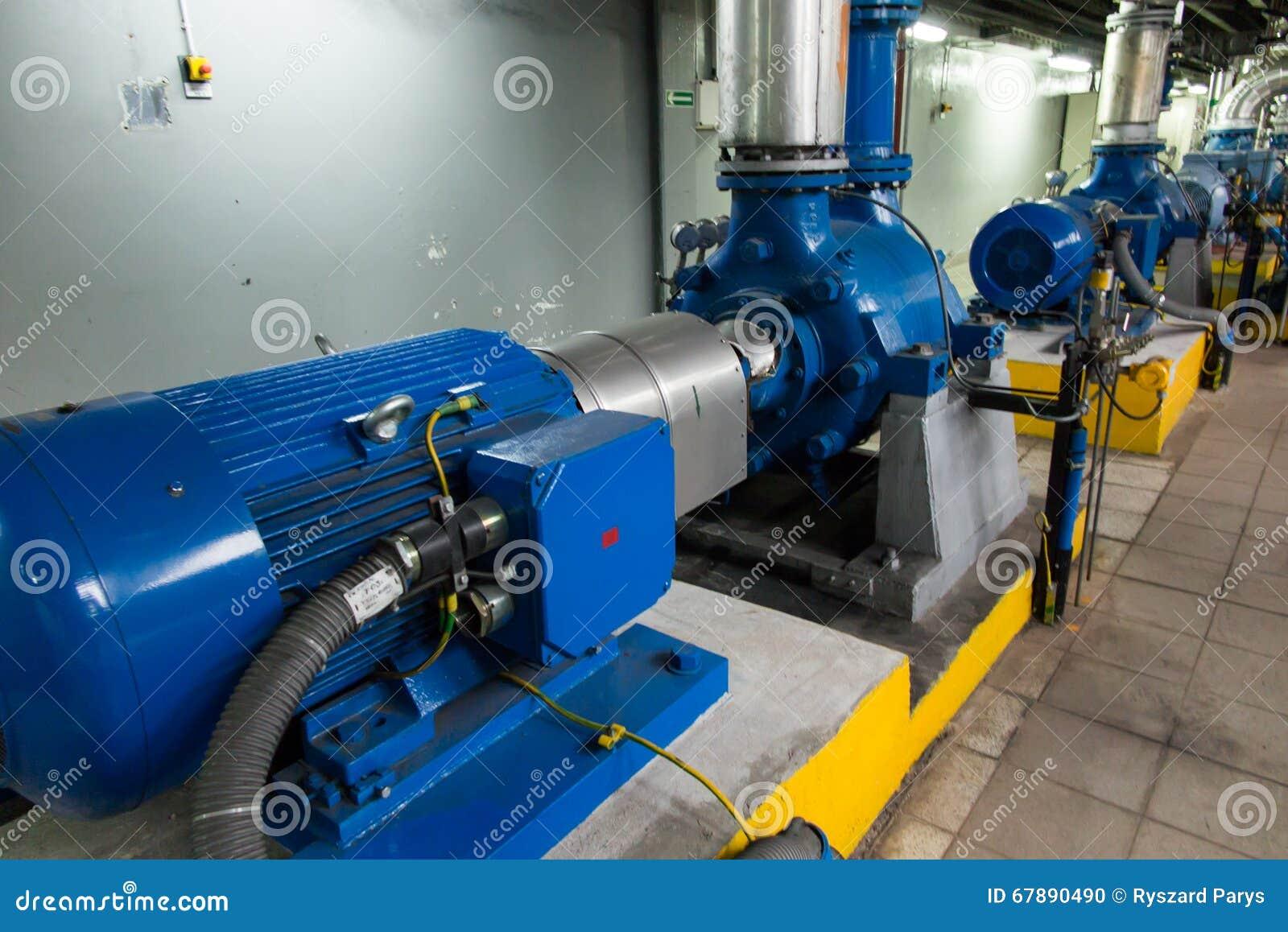 有大马达的几个水泵