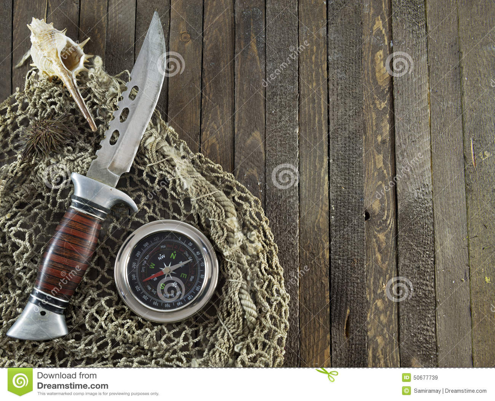 Download 有指南针的刀子在木背景 库存图片. 图片 包括有 指南针, 没人, 黄麻, 捕鱼, 对象, 关闭, 线路 - 50677739