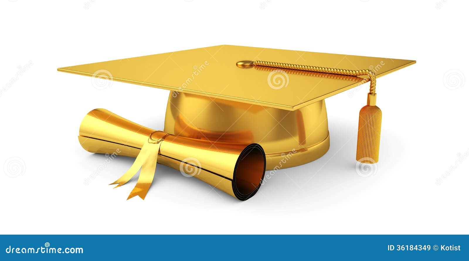 Download 有文凭的金黄毕业盖帽 库存例证. 插画 包括有 查出, 智能, 例证, 盖帽, 知识, 阿卡迪亚, 金子 - 36184349