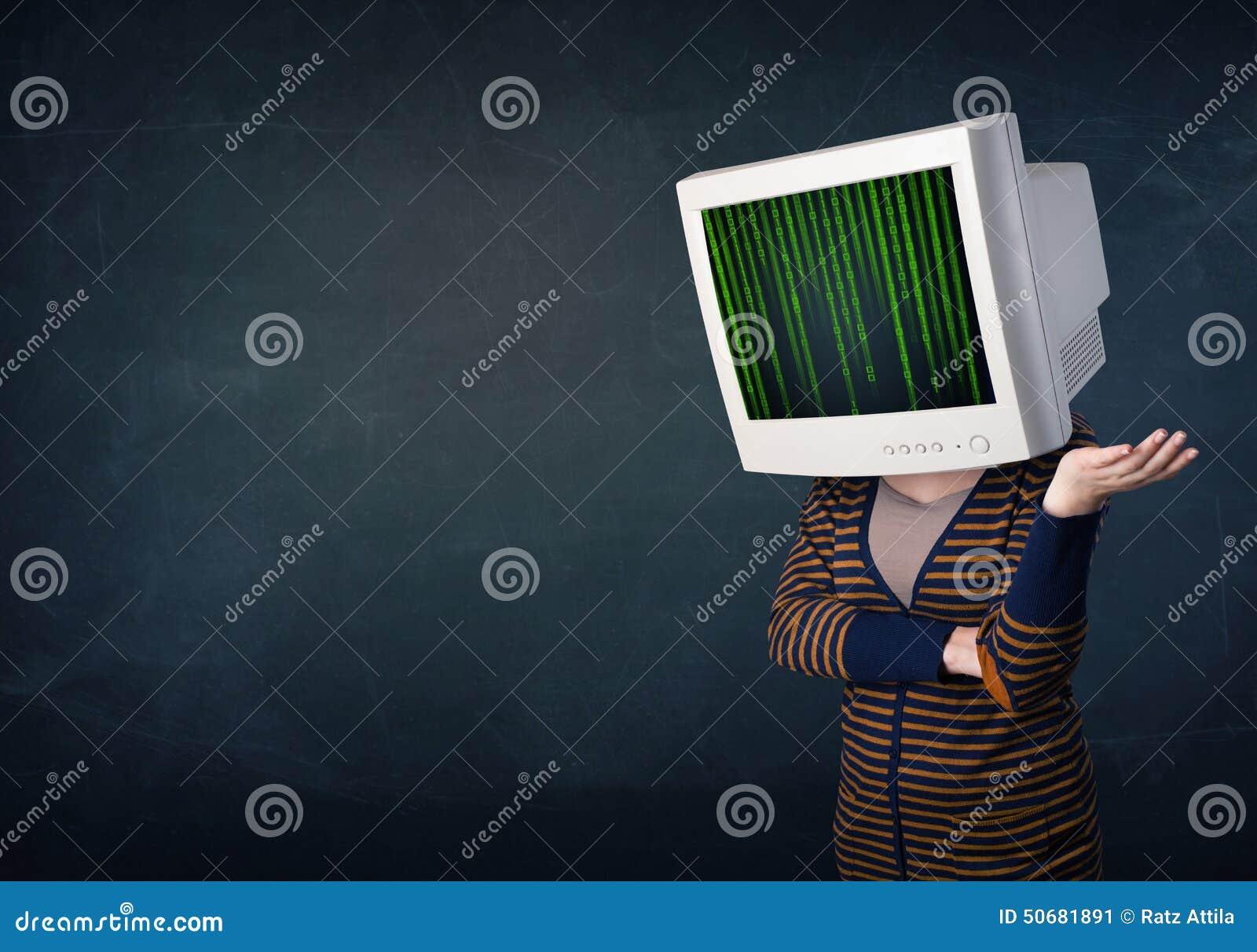 Download 有显示器屏幕和计算机编码的网络人在偏移 库存例证. 插画 包括有 互联网, 编码, 网络, 图形, 编程 - 50681891