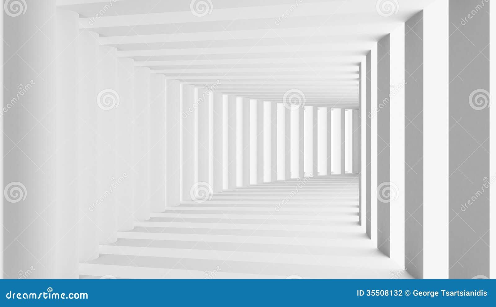 有曲拱的隧道