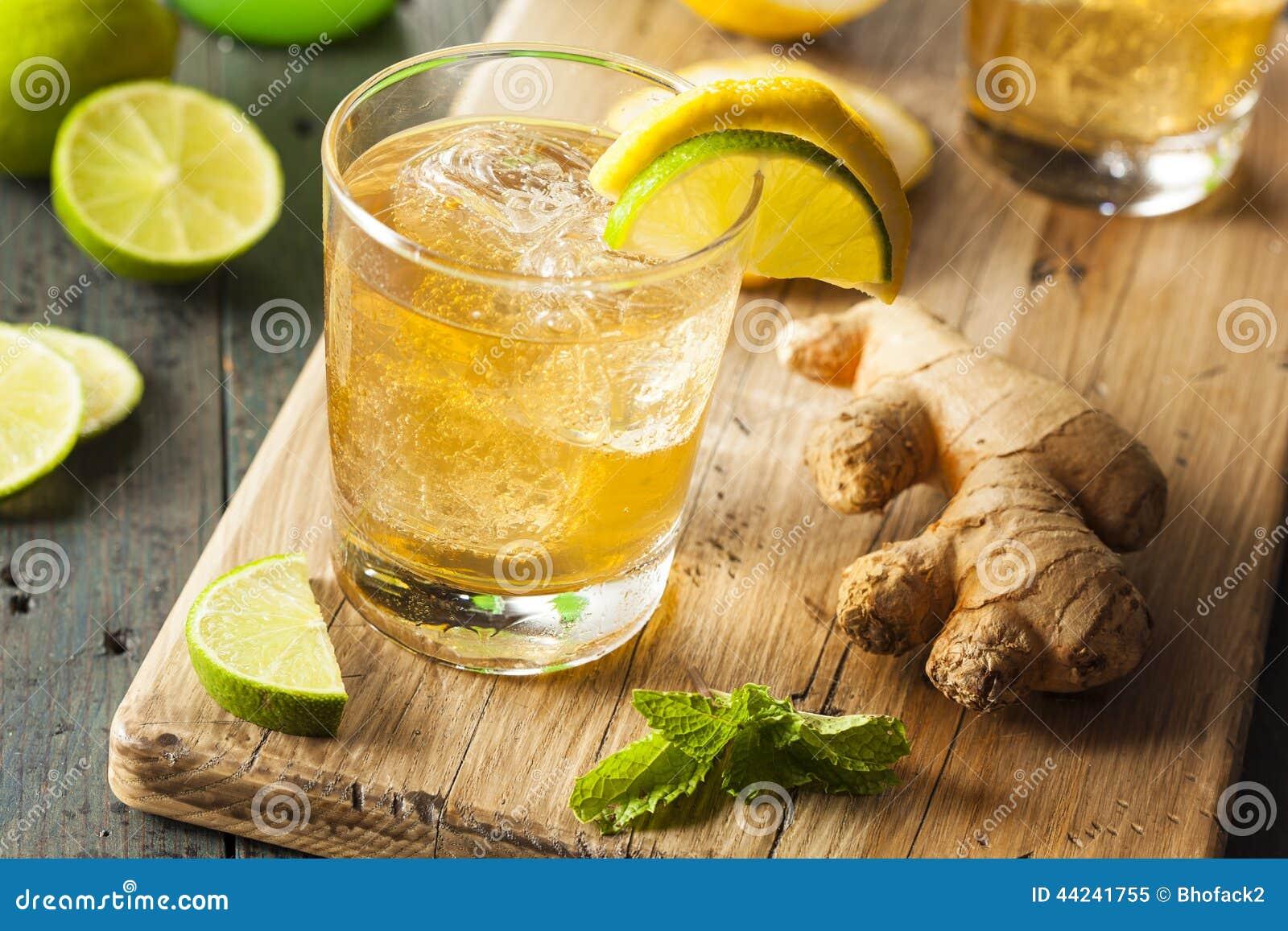 有机姜汁无酒精饮料苏打