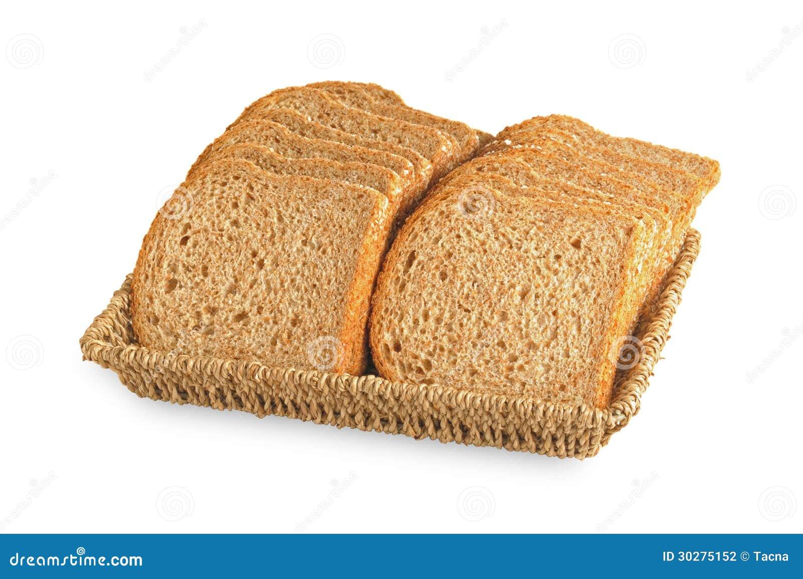 有机黑整个五谷面包