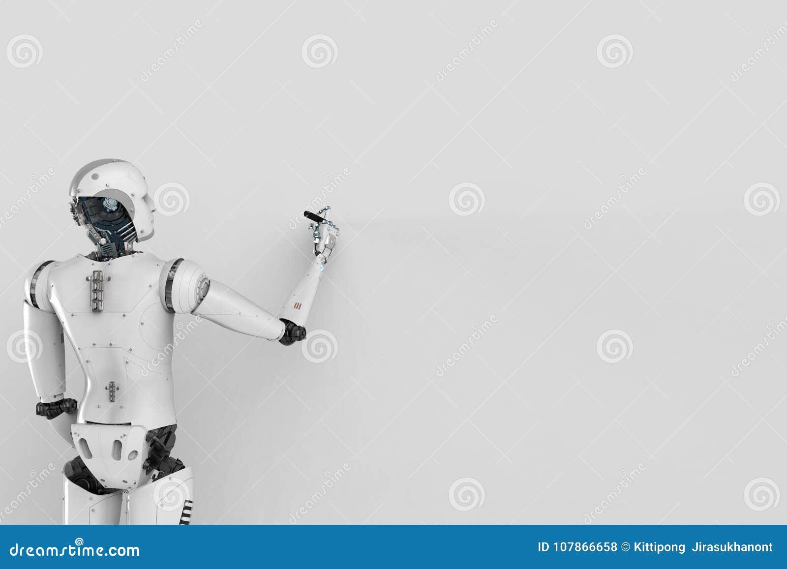 有死墙的机器人