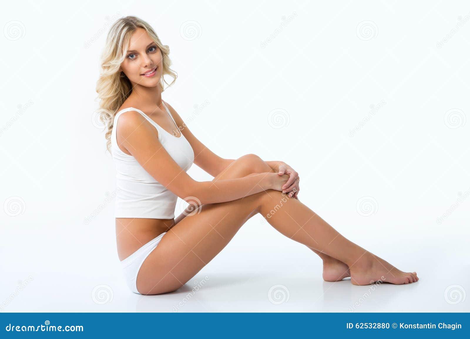有理想的图的美丽的妇女