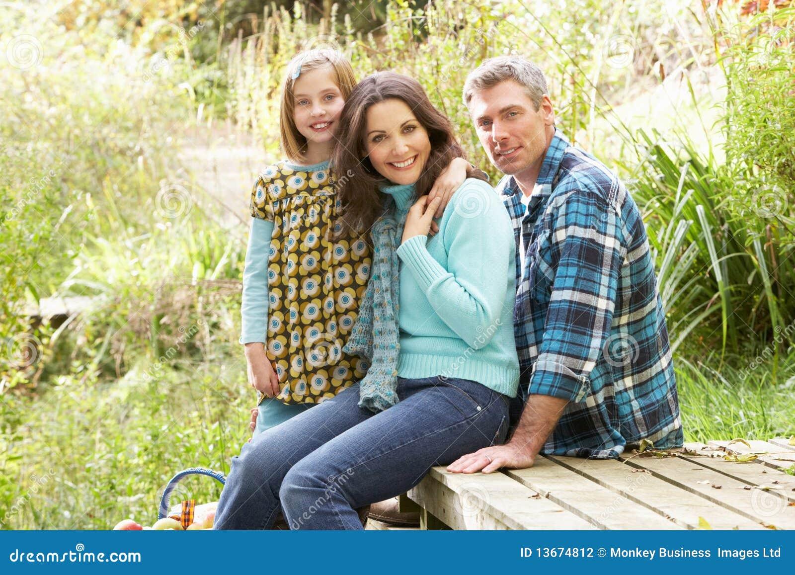 有的女儿父项野餐