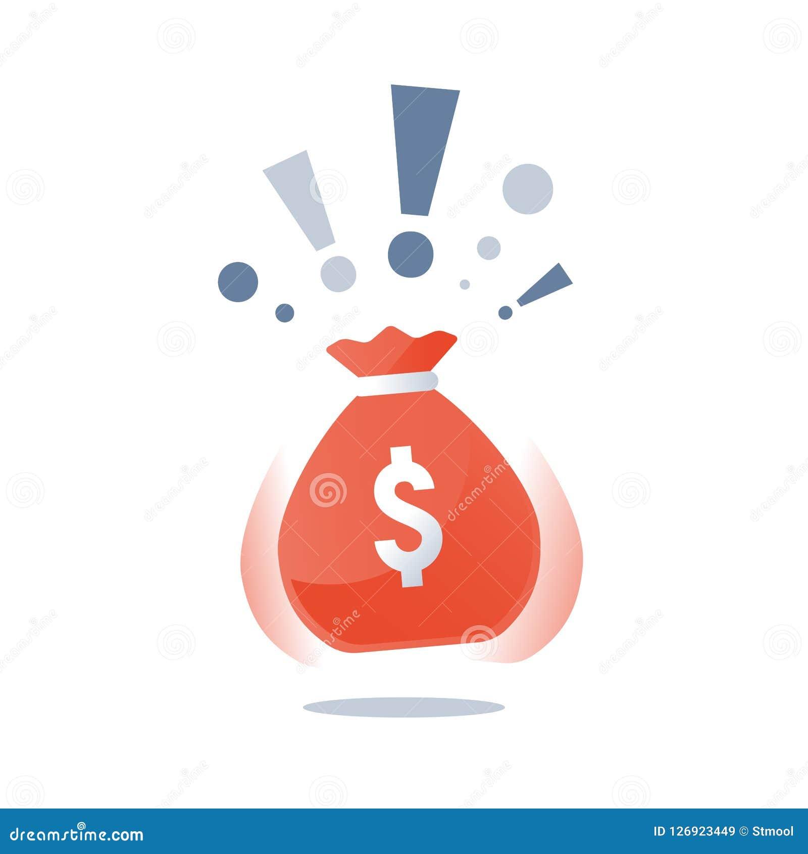 有美元的金钱大袋,超级得奖的巨大的袋子现金,赢取的盛大抽奖,赌博娱乐场困境,大资金
