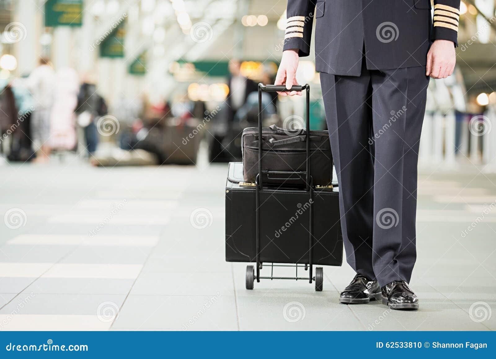 有袋子的飞行员