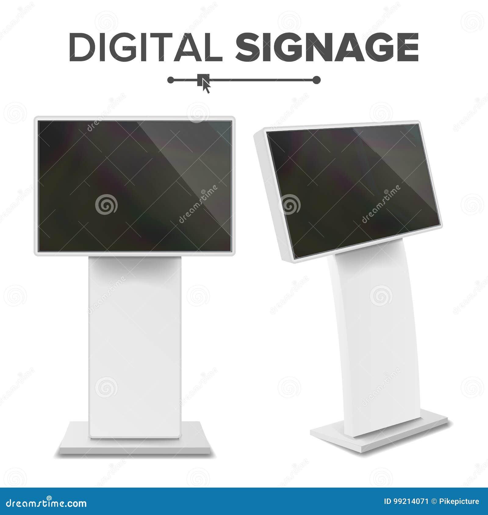有触摸屏传染媒介的数字式终端 交互式数字式与信息有关的报亭 数字式报亭LED显示 查出