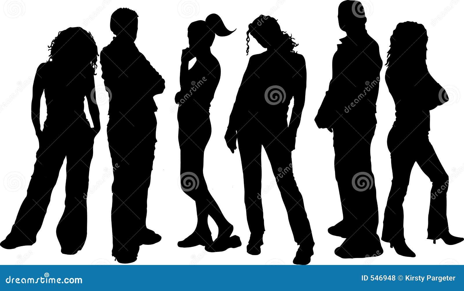Download 朋友 向量例证. 插画 包括有 向量, 妇女, 人群, 女性, 图象, 女孩, 剪影, 艺术, 人们, 男朋友 - 546948