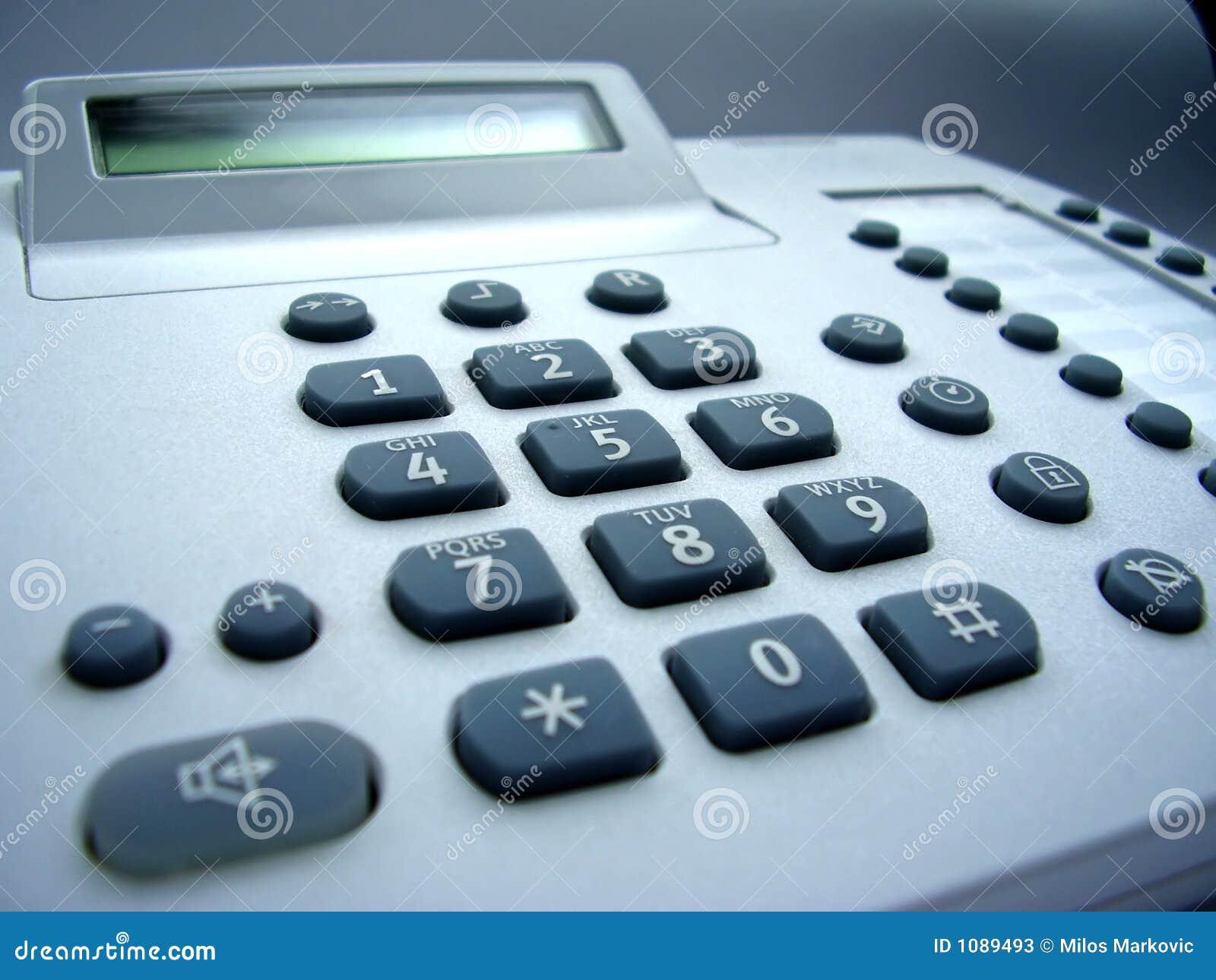 服务台电话