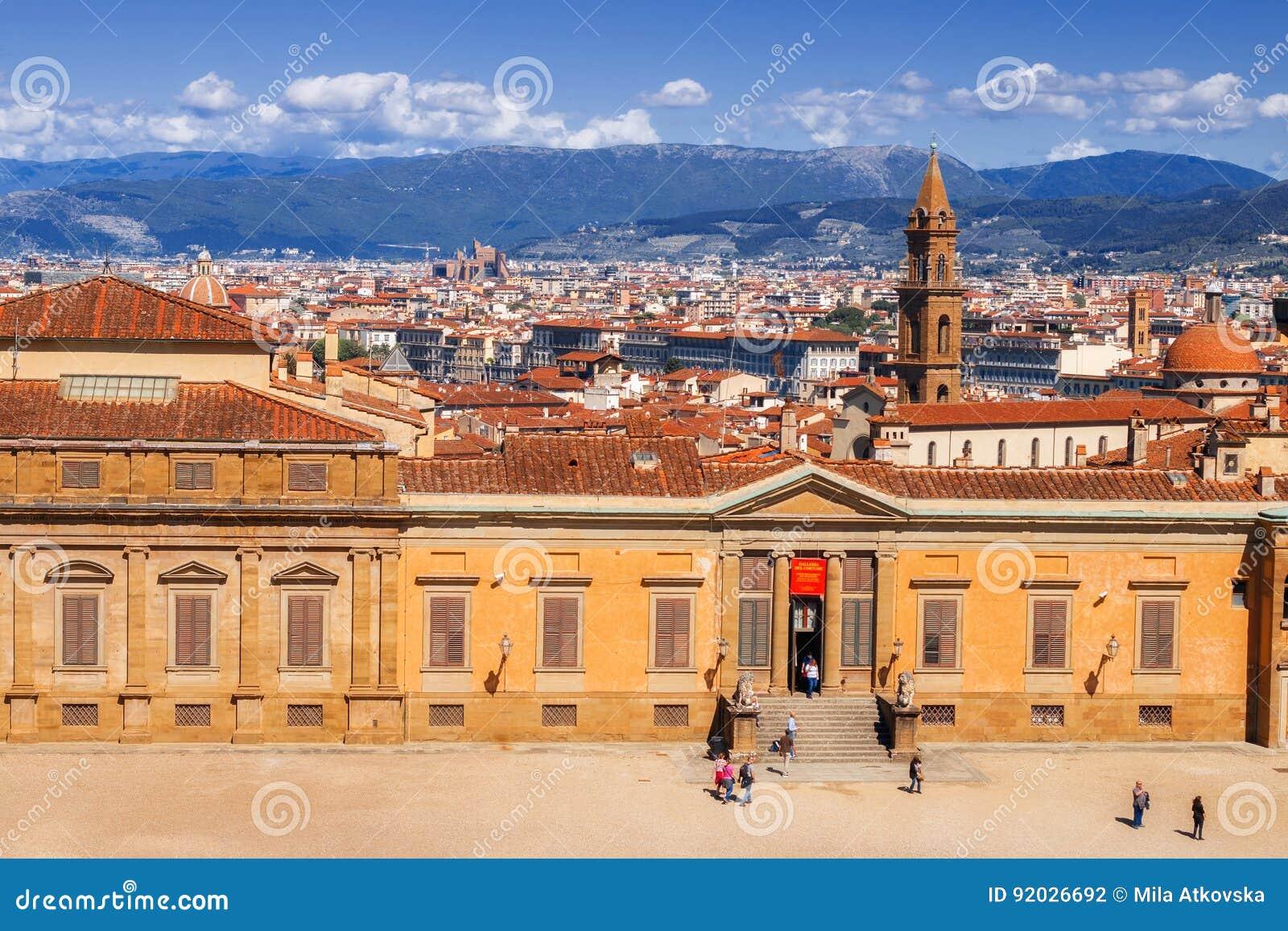 5 05 2017 - 服装画廊大厦,一部分的Palazzo Pitti Pitti宫殿- Medici家庭的前住所,佛罗伦萨