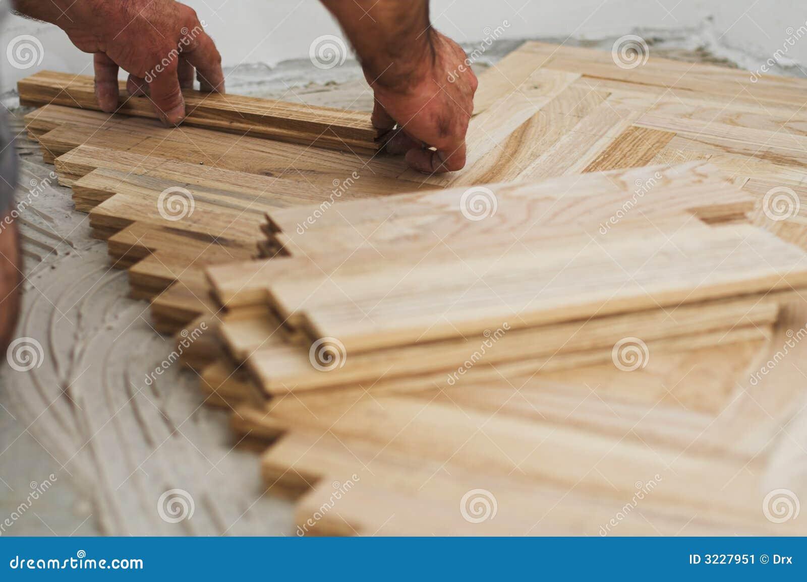 木匠概念木条地板