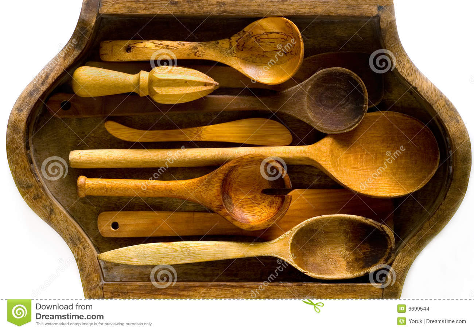 木厨房的器物