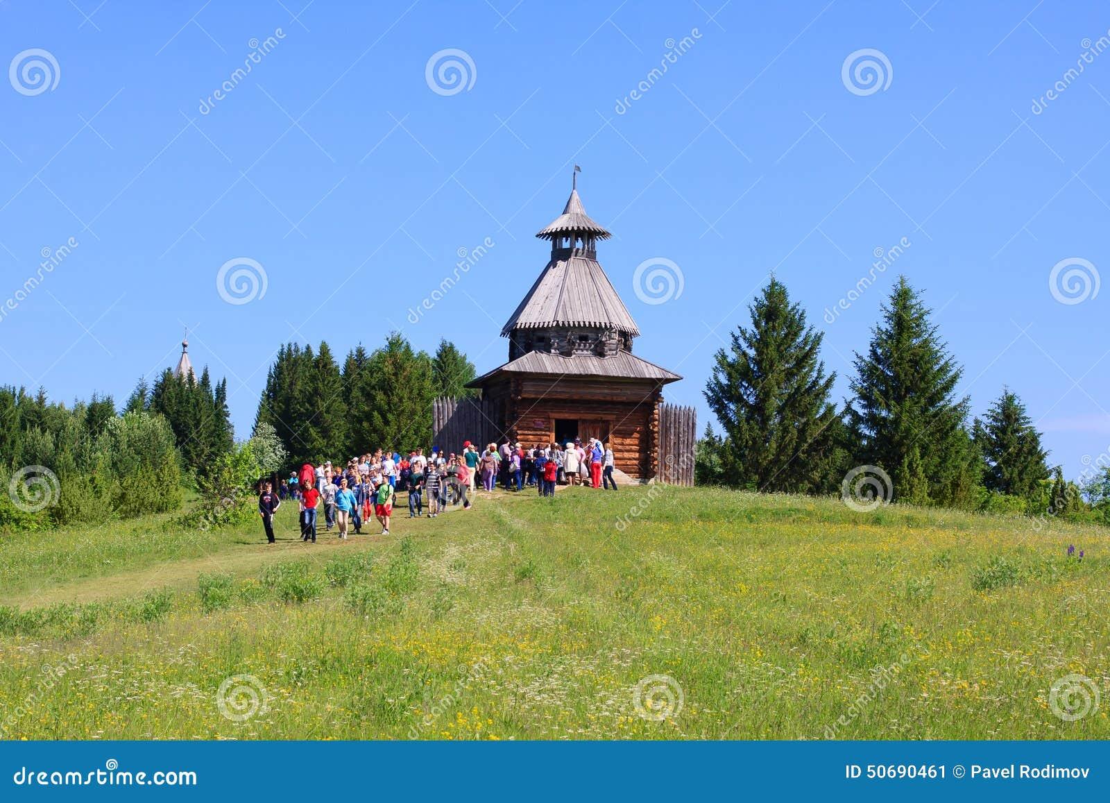 Download 木城楼在博物馆Khokhlovka 编辑类照片. 图片 包括有 顽皮地, 外部, 颜色, 拱道, 镇痛药 - 50690461