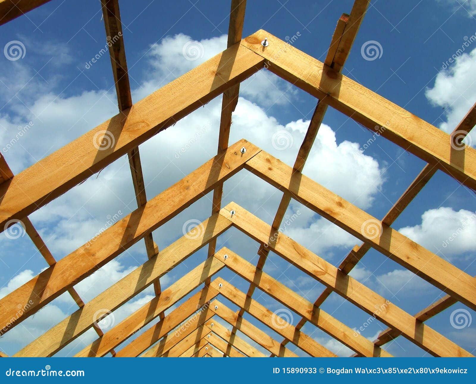 木建筑的屋顶