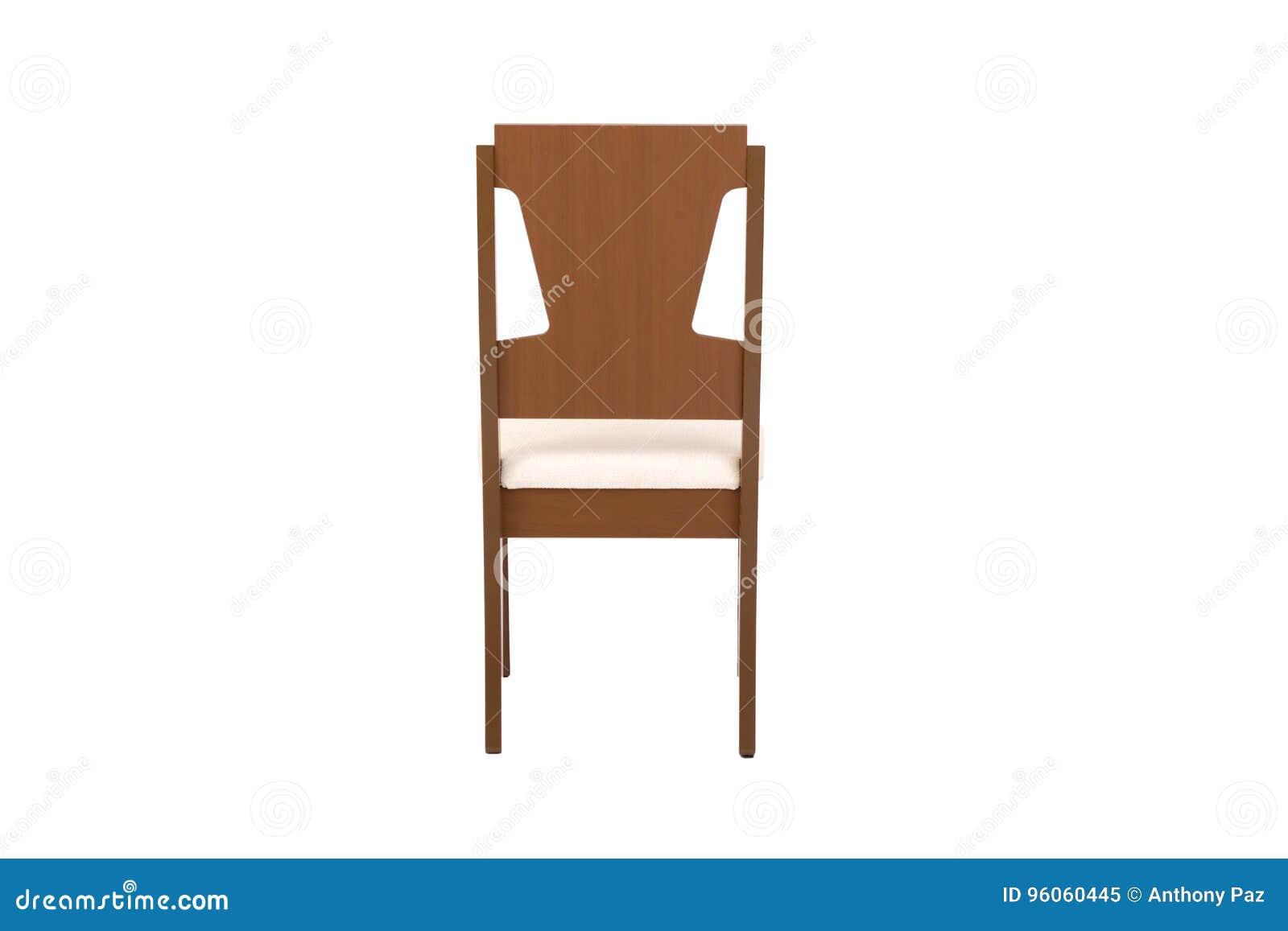 木椅子 对象被隔绝背景