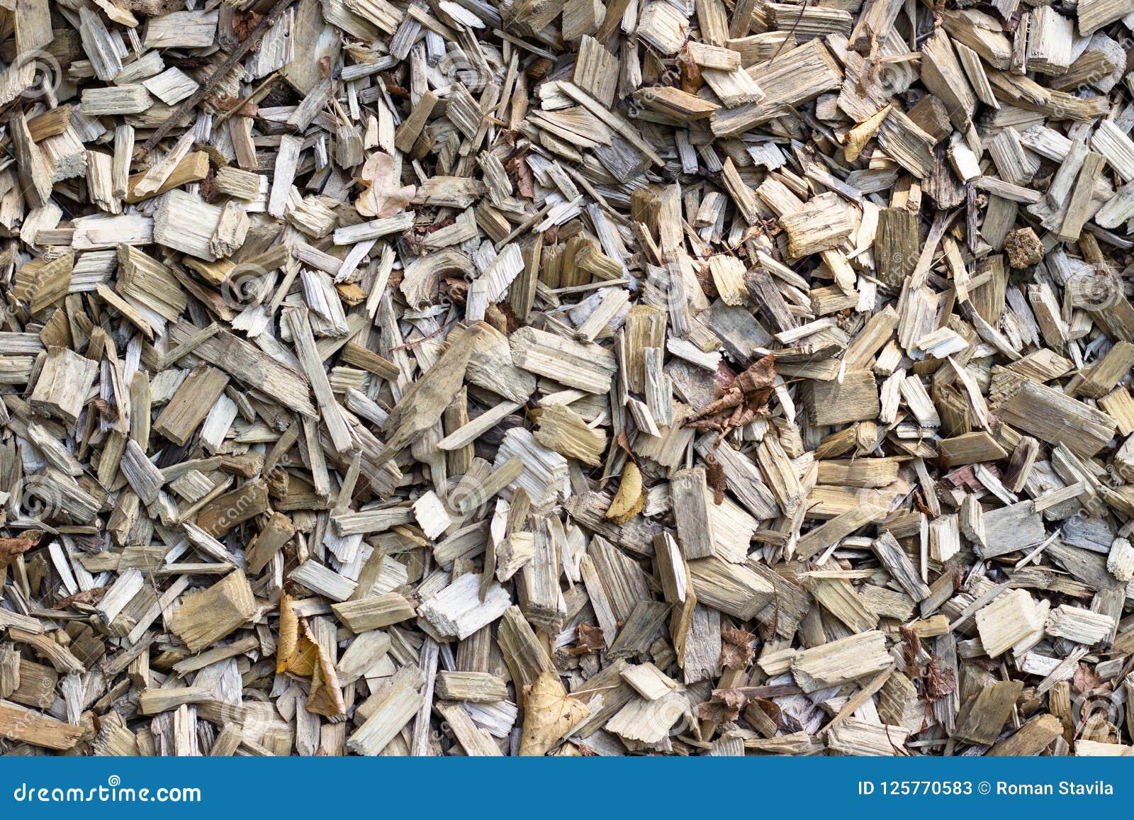 木片 被回收的木头 环境友好处理 木头的运用