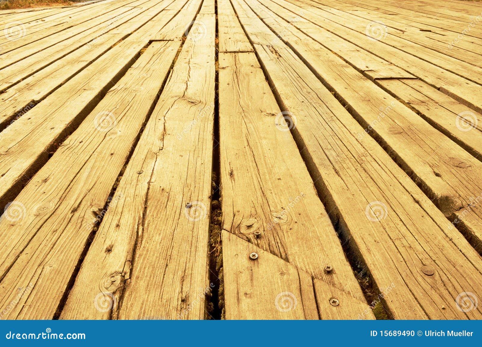 木的大阳台