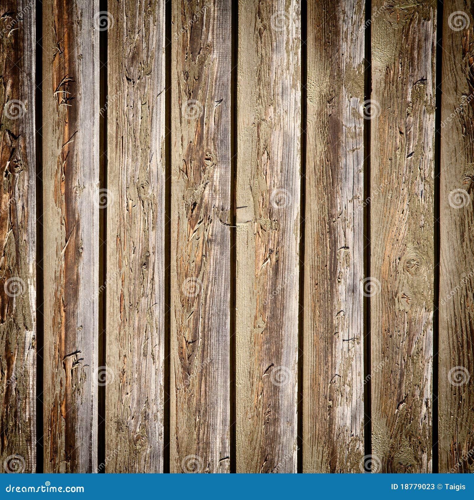 木背景的墙壁