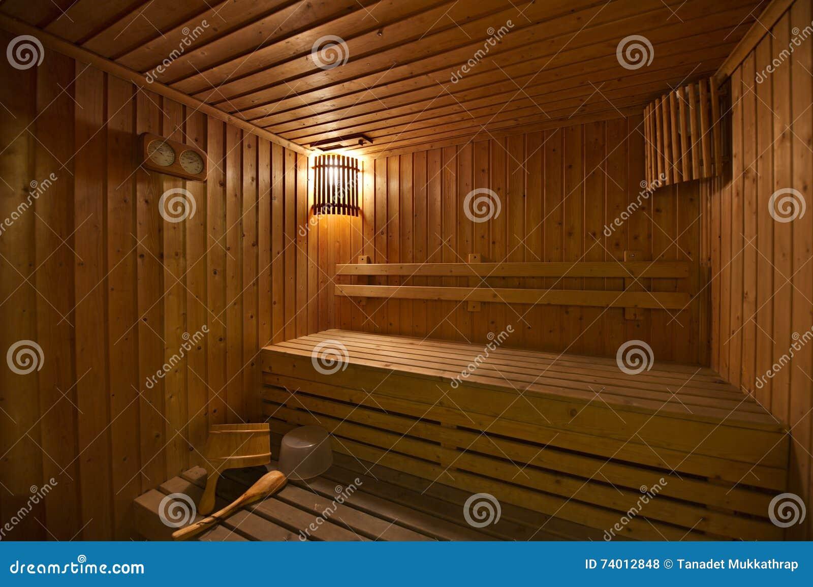 木蒸汽浴室