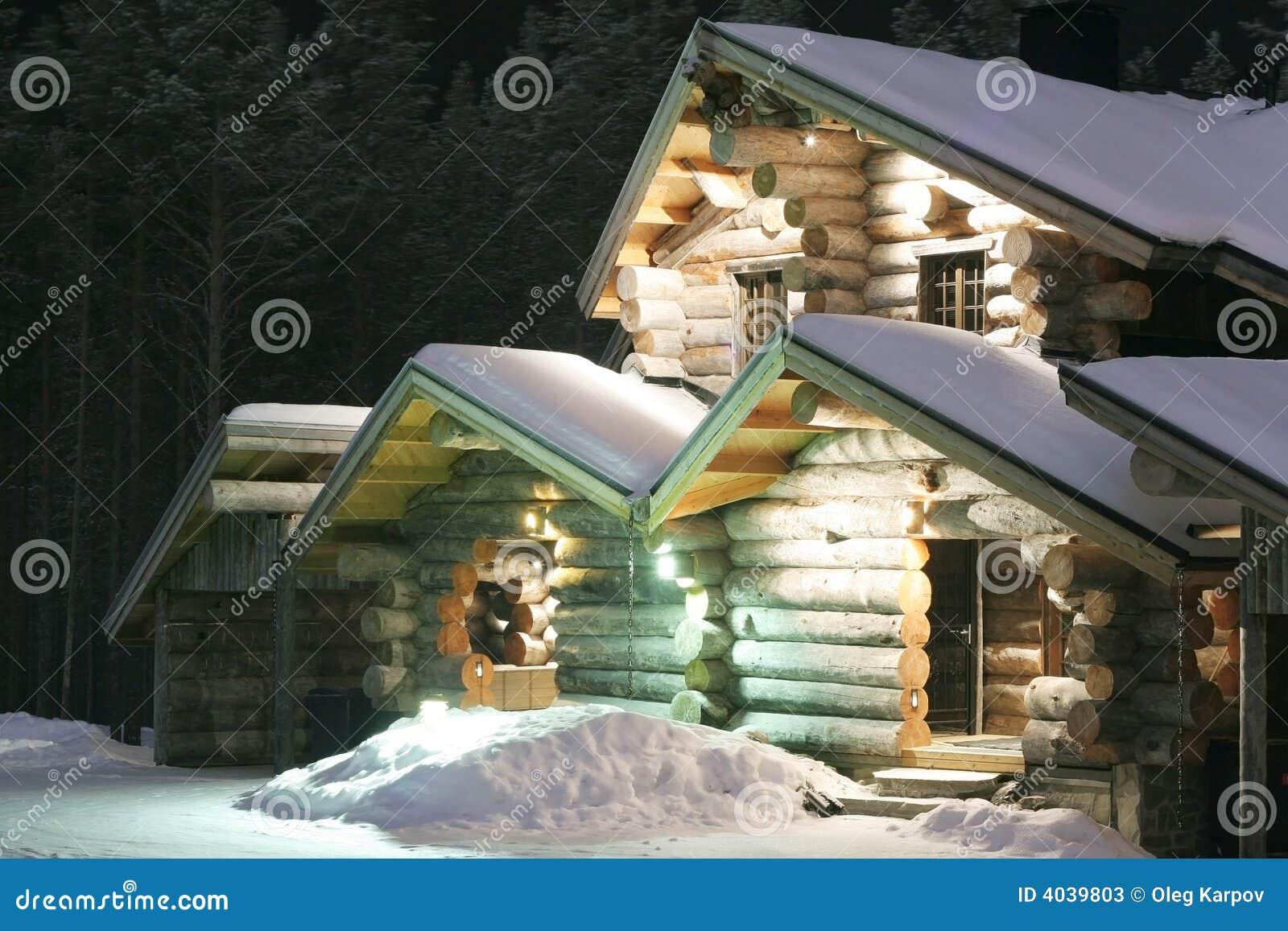 木被显示的房子