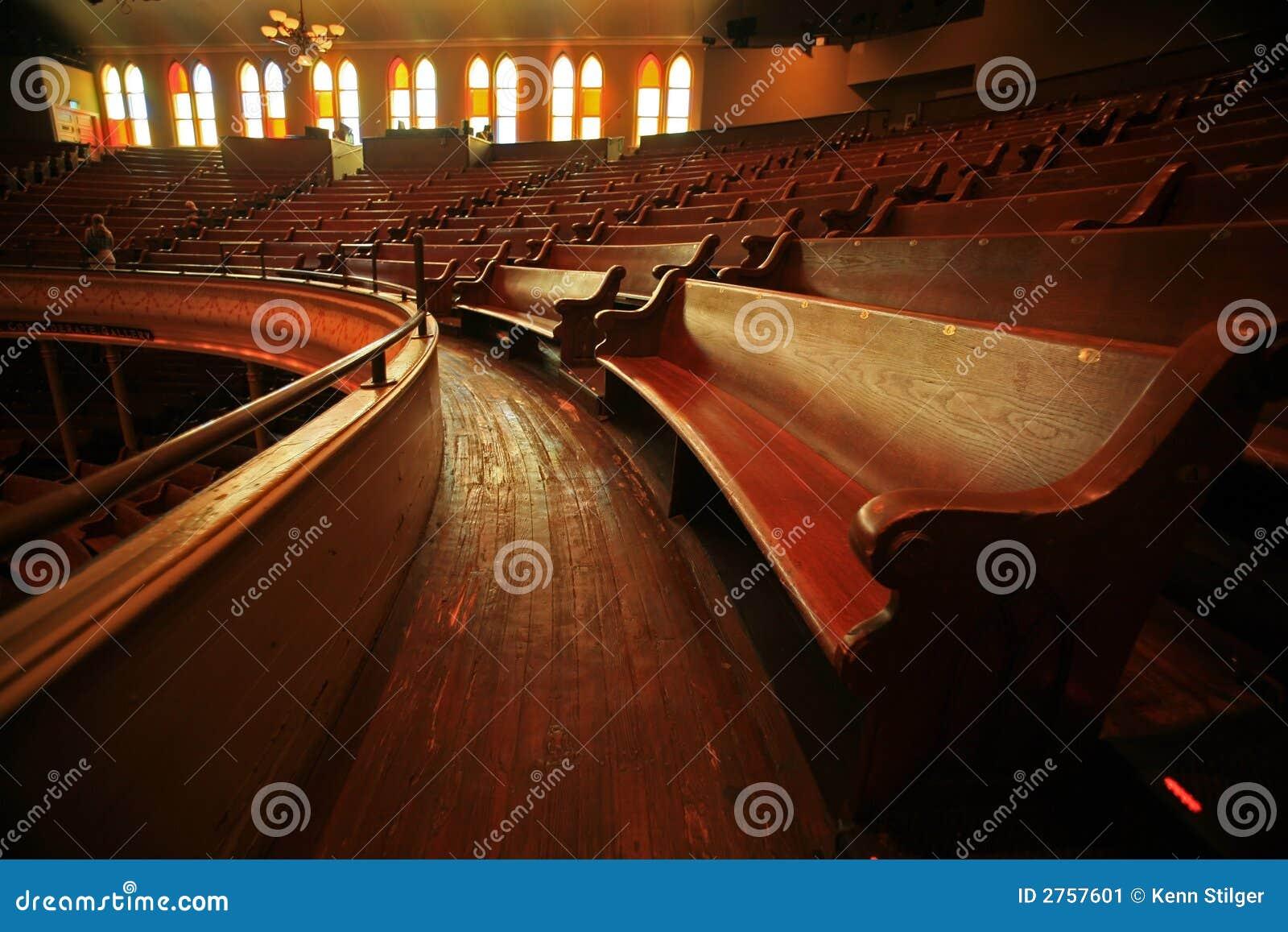 木音乐会的座位