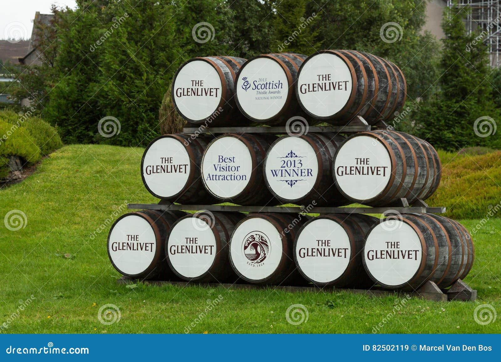 木Glenlivet威士忌酒桶