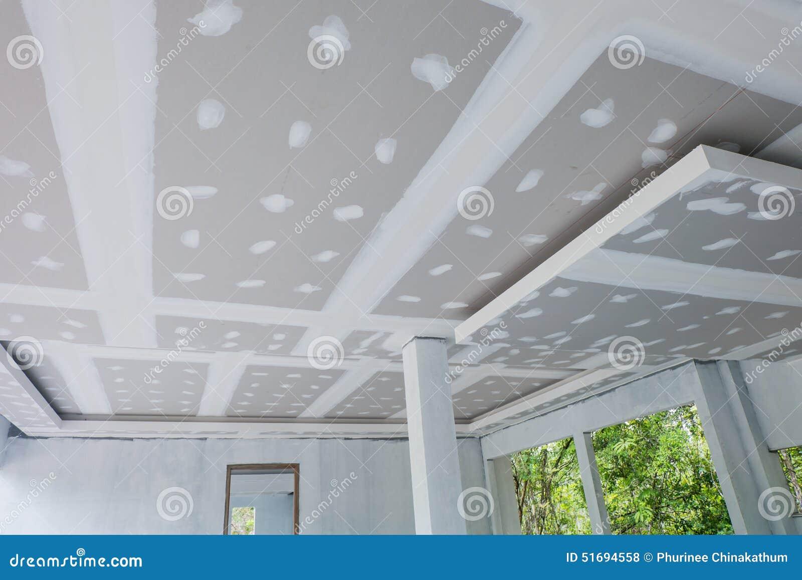 未完成的房子天花板