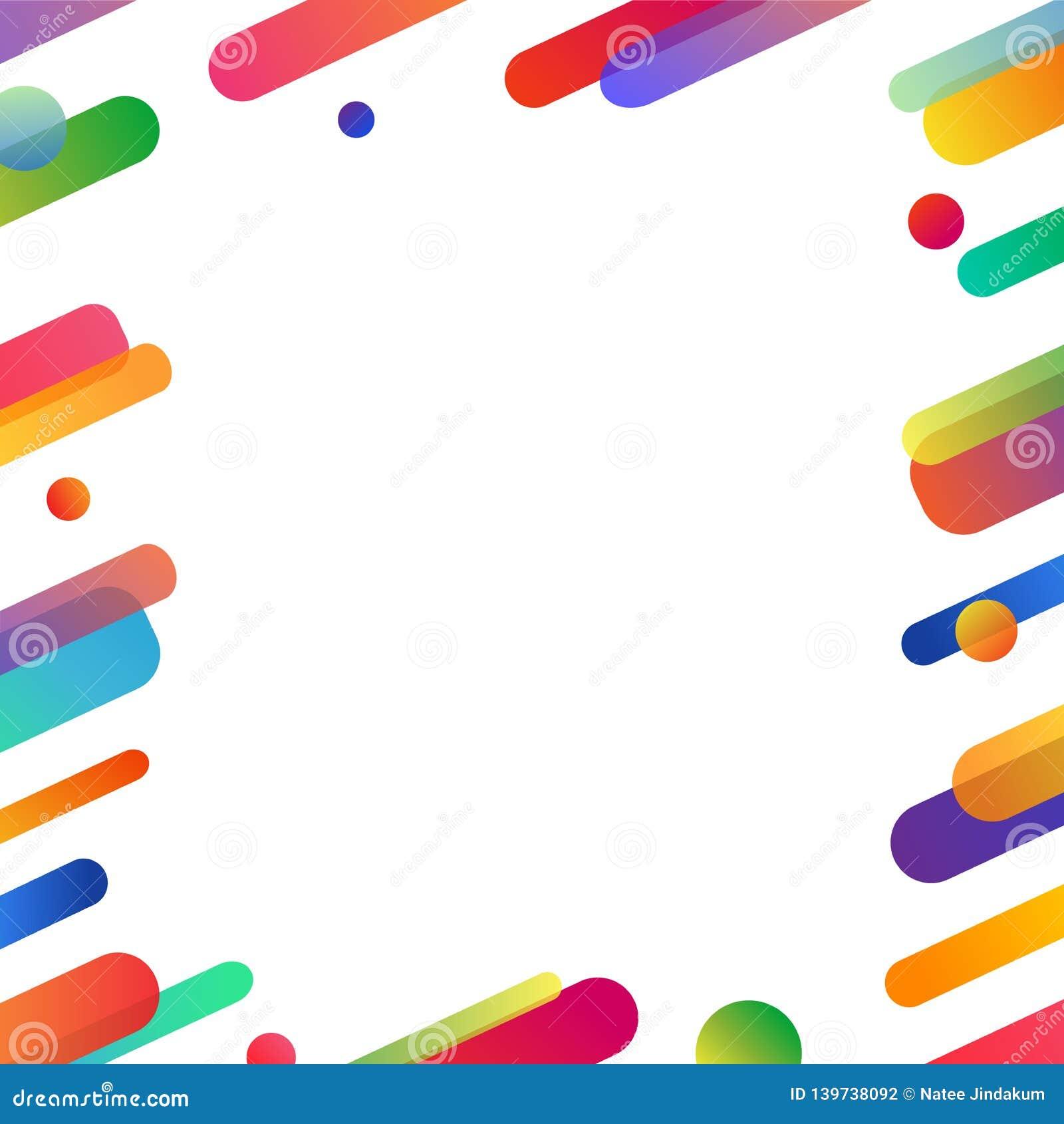 未来主义飞行物摘要与拷贝空间的背景设计 商务的五颜六色的明亮和快乐的传染媒介例证样式