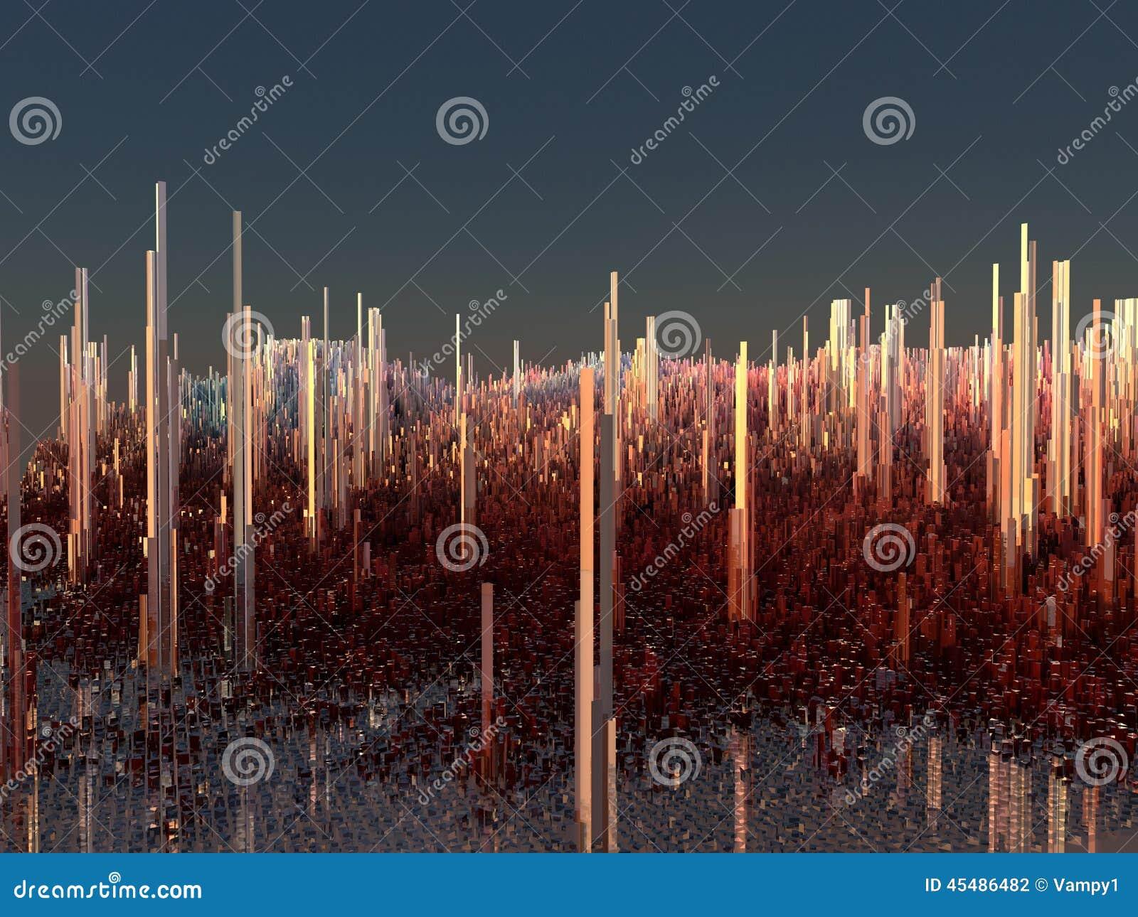 未来城市,摩天大楼,科幻