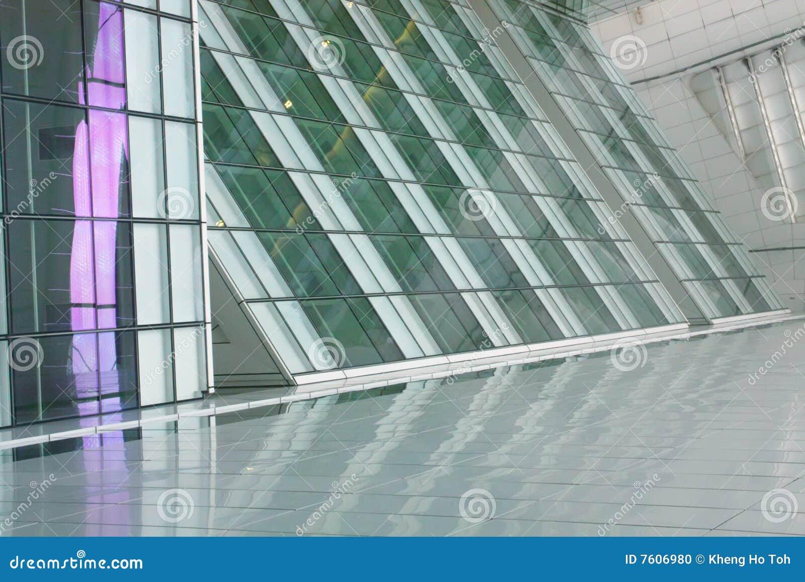 未来派抽象的大厦