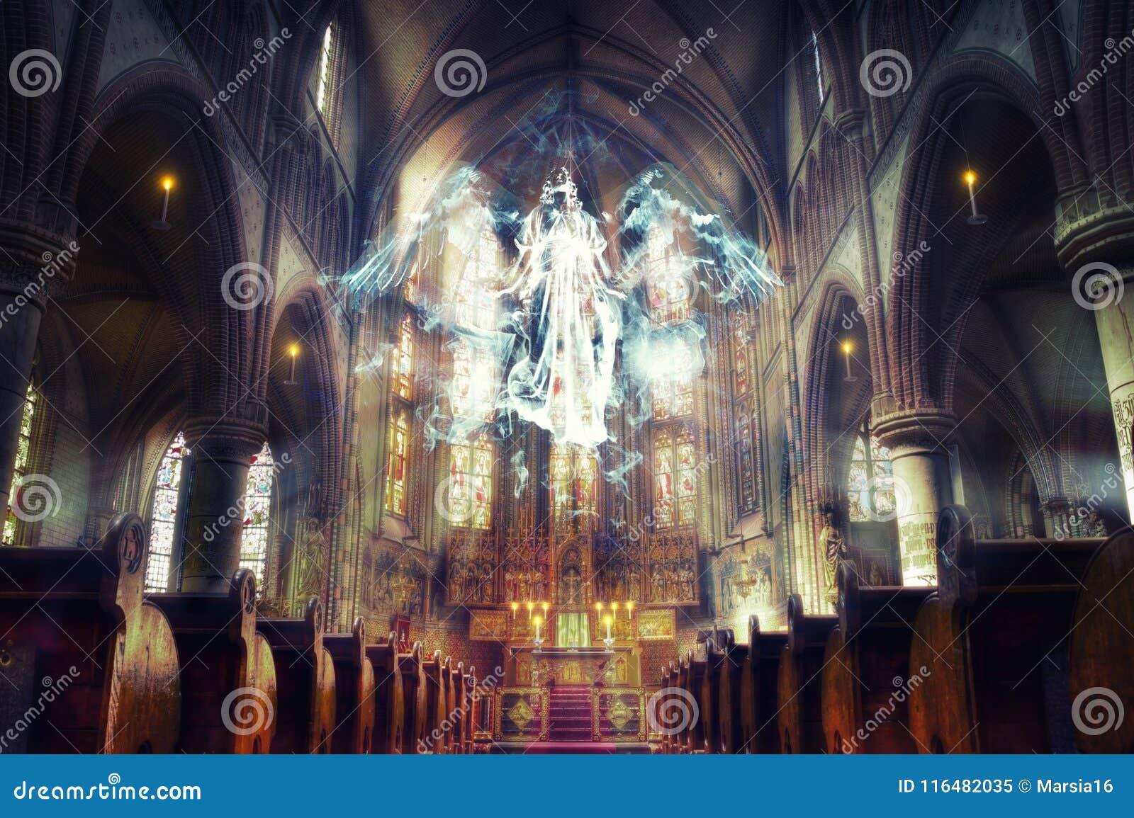未看见的现实 盘旋在教会里的天使
