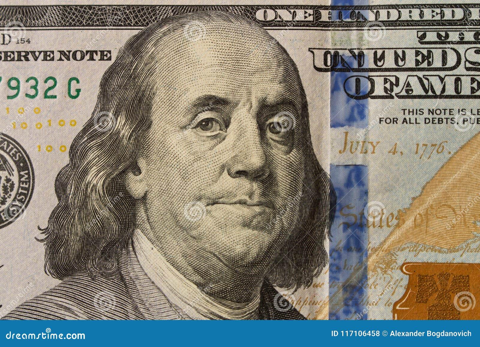 本杰明・富兰克林总统画象100美金的 克洛