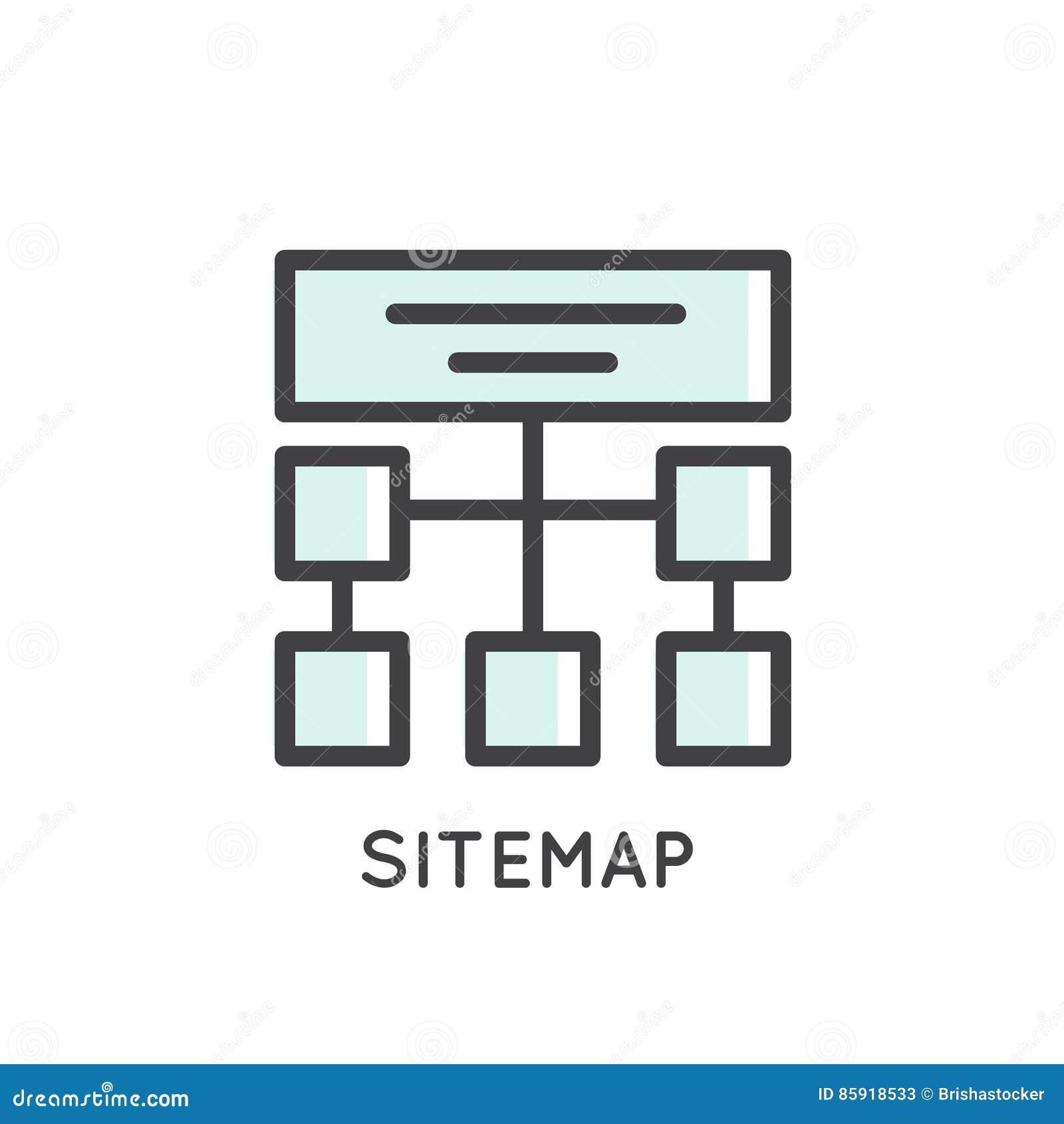 机动性和App开发工具和过程, Sitemap,主持,结构