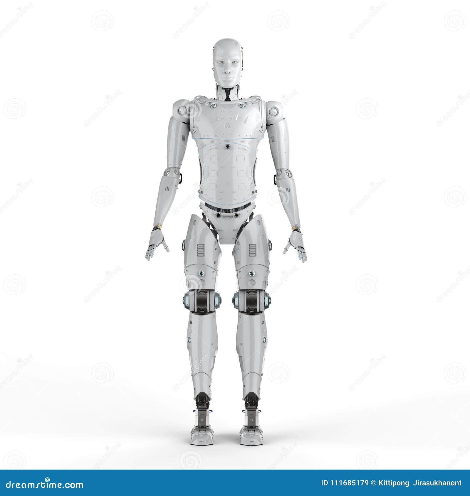 机器人充分的身体